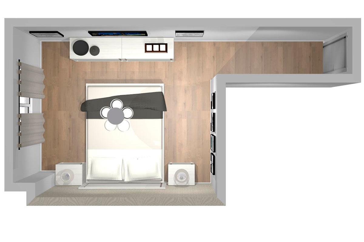 Proyecto Dormitorio REF-004