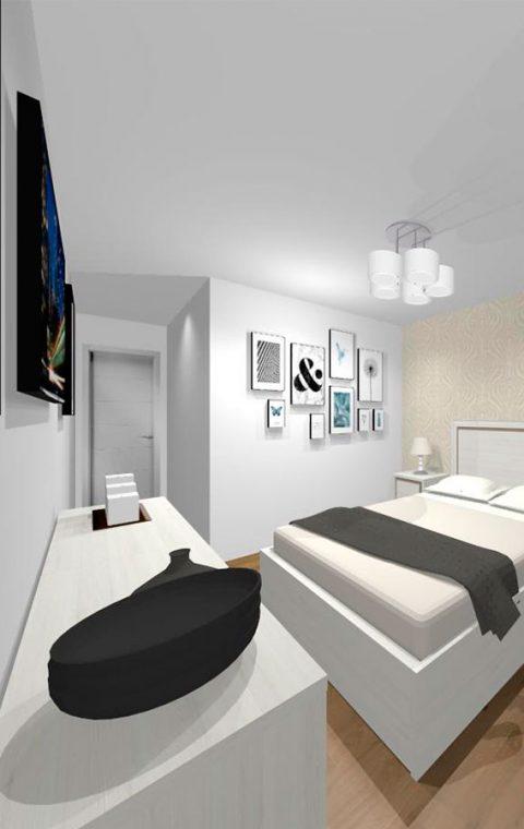 Mueble 3 Decoración Dormitorio REF-004