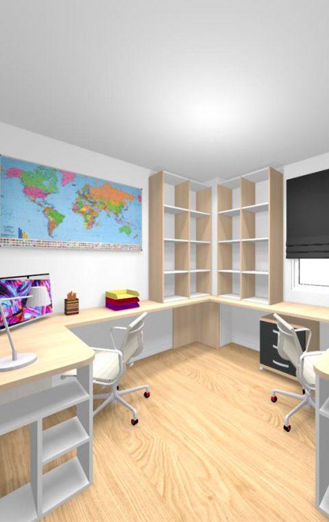 Mueble 3 Decoración Juvenil REF-001