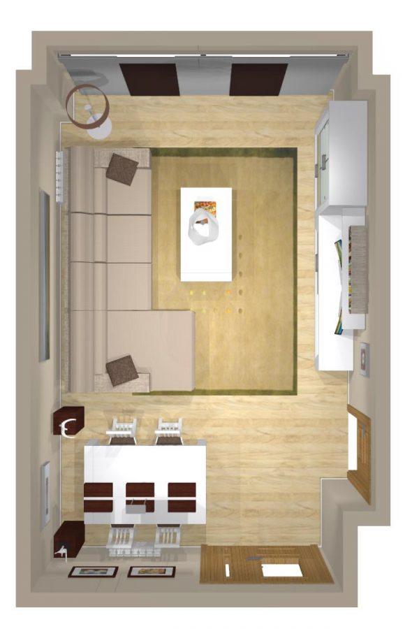 Mueble 3 Decoración Salón REF-007