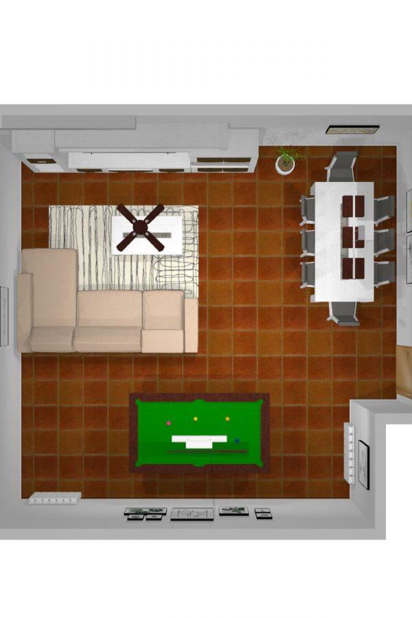 Mueble 3 Decoración Salón REF-009