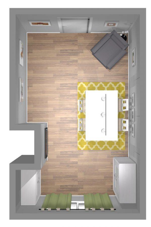 Mueble 3 Decoración Salón REF-010