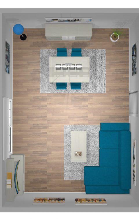 Mueble 3 Decoración Salón REF-011