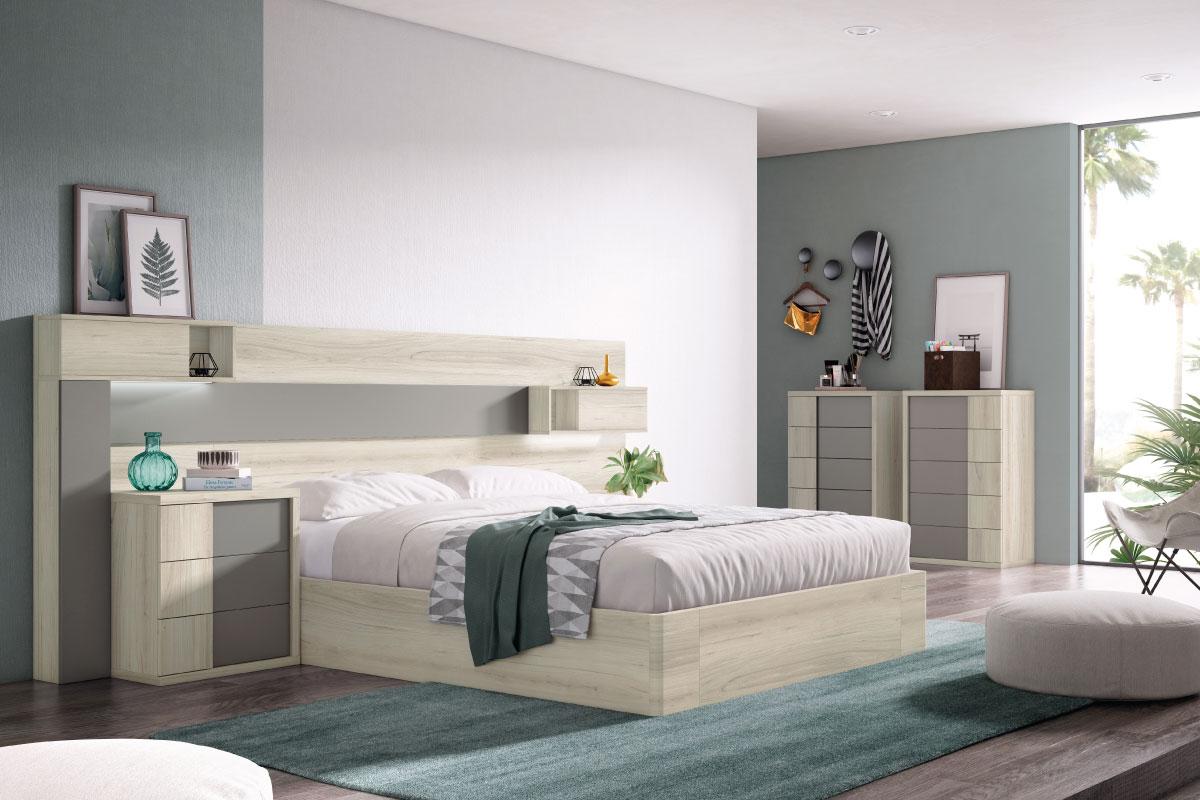 Dormitorio Matrimonial REF-091