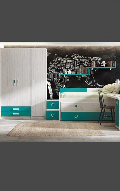 Dormitorios Juveniles REF-049