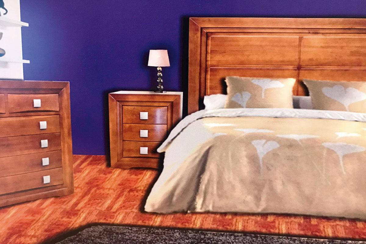 Dormitorio matrimonio en cerezo