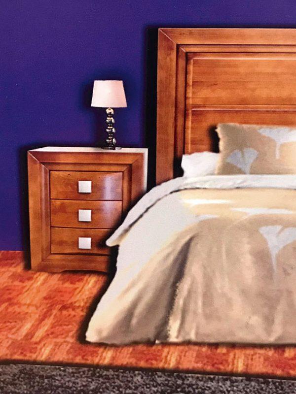 Dormitorio matrimonio en cerezo REF-159